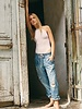 Free People Mixed Up Utility Jean