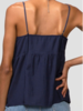 Greylin Clarissa Pinstripe Lace Trim Cami