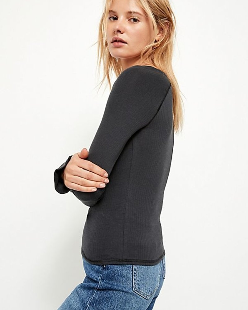 Free People Bit Of Lace Layering Top