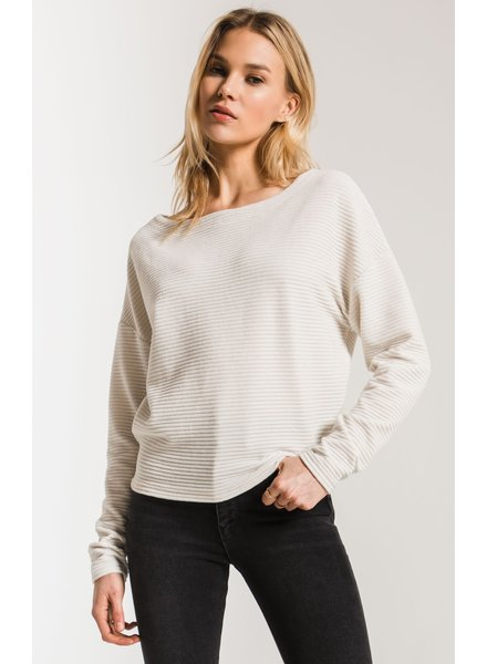 Z Supply THe Wide Wale Cord Boat Neck
