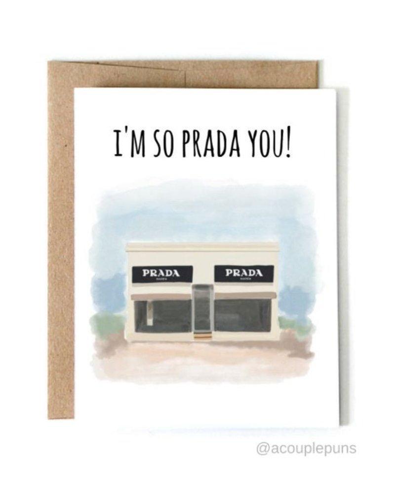 ACouplePuns I'm So Prada You