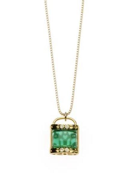 Joy Dravecky Lucky Charm Necklace