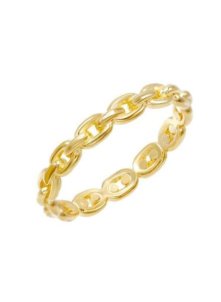 Adina Jewels Chain Ring