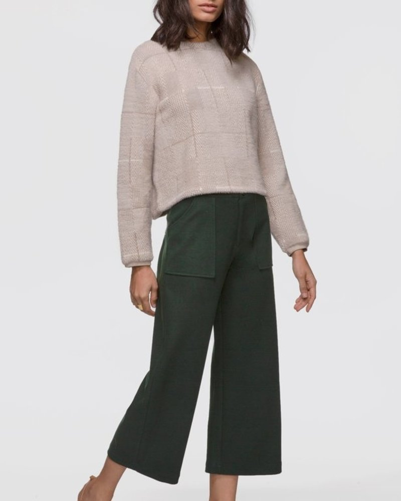 Greylin Mallory Herringbone Soft Knit Fuzzy Sweater