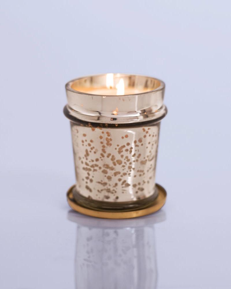 Capri Blue Blue Jean Mercury Found Glass Candle