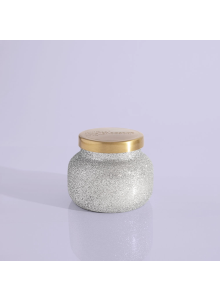Capri Blue Frosted Fireside Glam Petite Jar