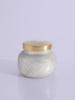 Capri Blue Frosted Fireside Glam Petite Jar