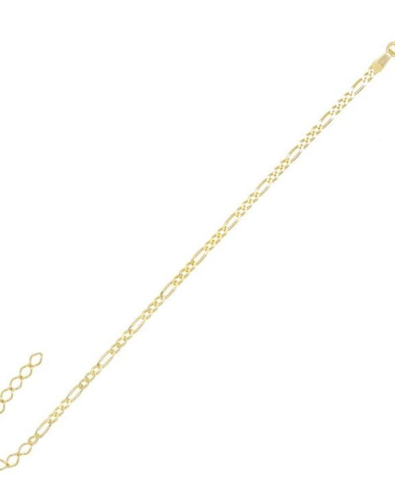 Adina Jewels Figaro Bracelet