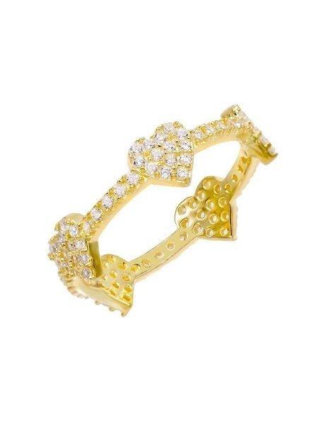 Adina Jewels Heart Ring