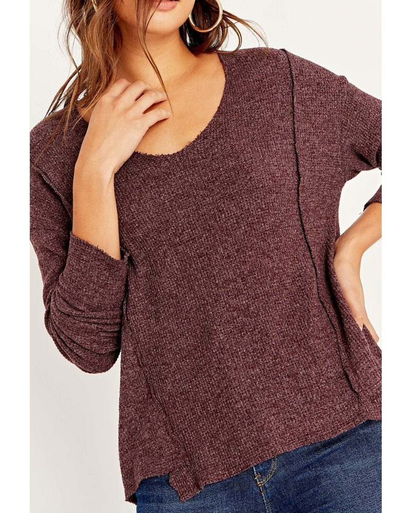 PROJECT SOCIAL T PROJECT SOCIAL T Arielle Seamed Cozy Voop