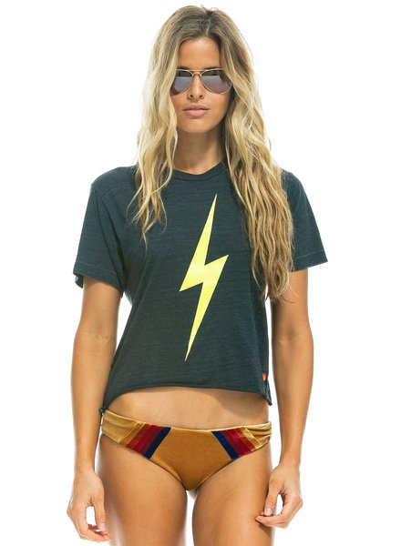 Aviator Nation Bolt Boyfriend Tee