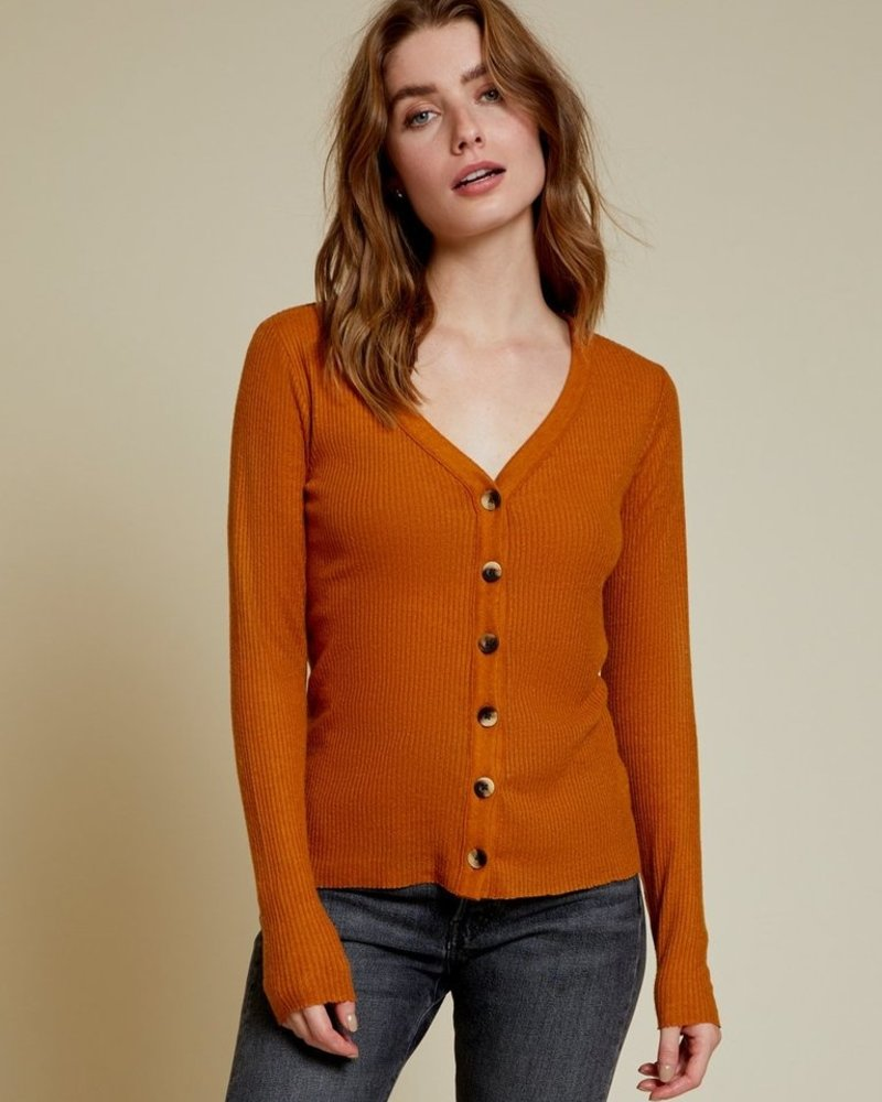 NATION Kendra Fitted Cardigan