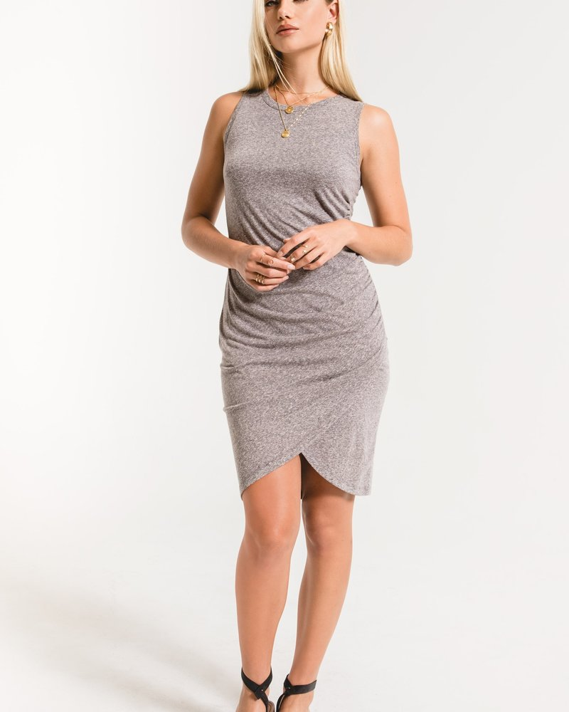 Z Supply The Triblend Tulip Midi Dress