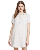 Linen Pocket Shirt Dress
