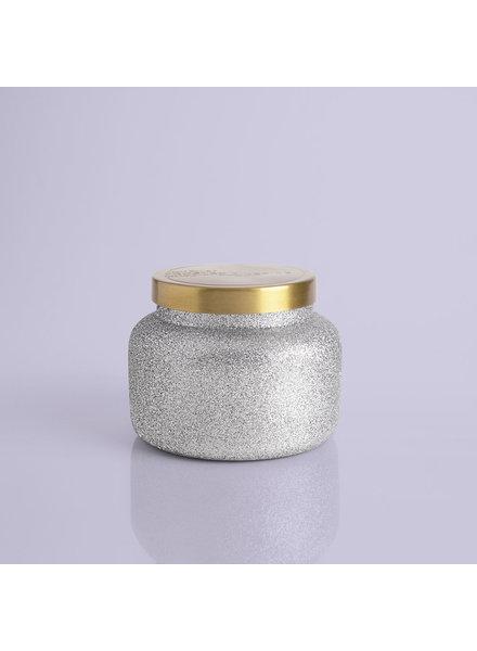 Capri Blue Silver Glittered Ombre 19 oz