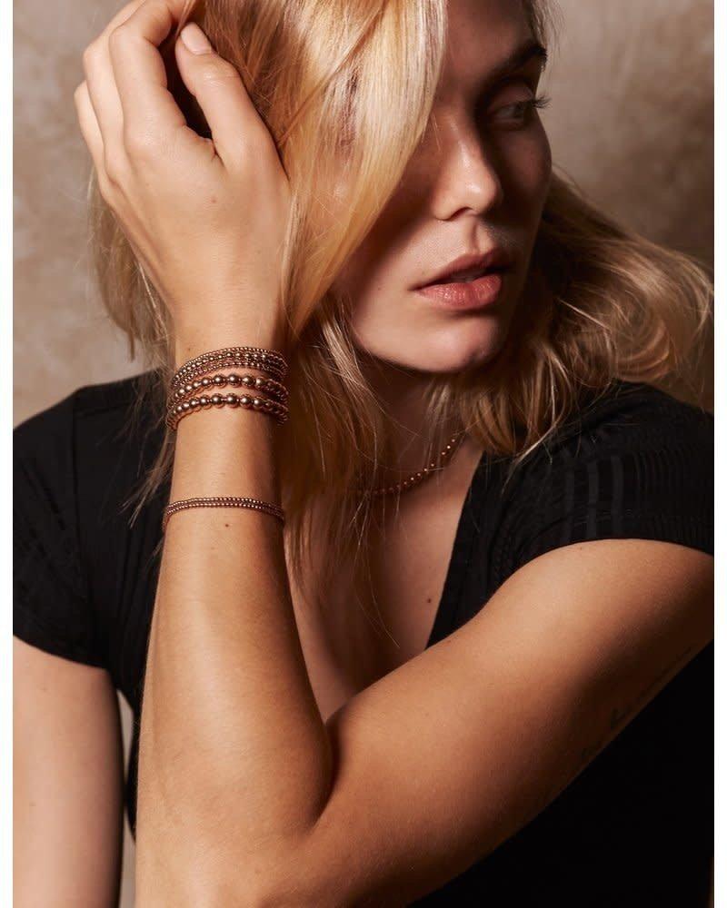 Alexa Leigh  Alexa Leigh 5MM Gold Ball Bracelet