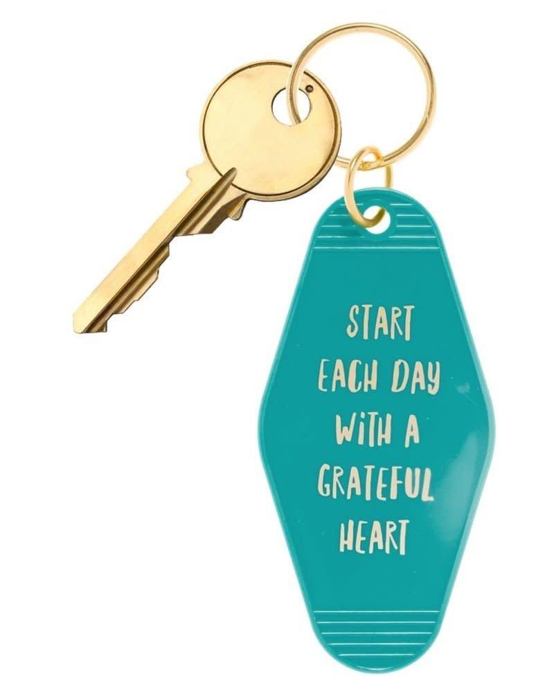 BOPS BOPS Keychain - Start Each Day With A Grateful Heart