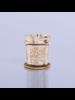 Capri Blue Capri Blue Jean Mercury Found Glass Candle