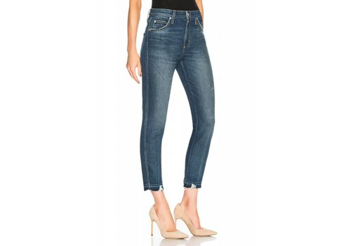 AMO High Rise Stix Crop Denim