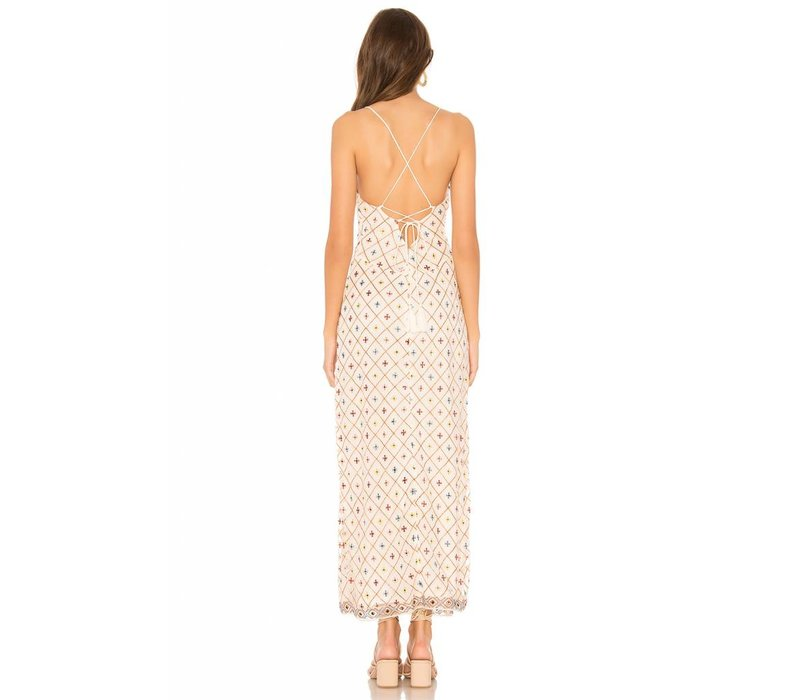 Linda Embroidered Dress