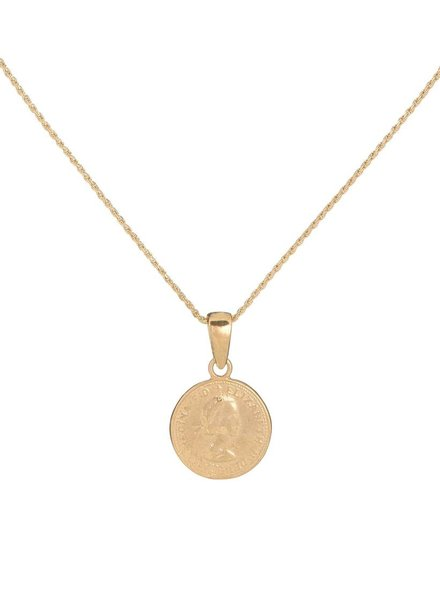 Adina Jewels Canadian Coin Necklace