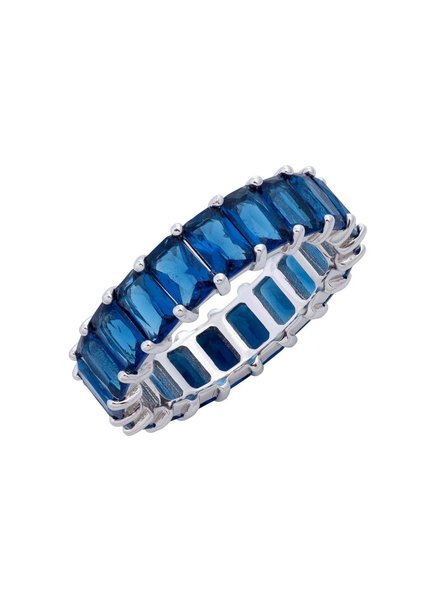 Adina Jewels Colored Band Rings