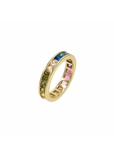 Adina Jewels Rainbow Princess Band Set