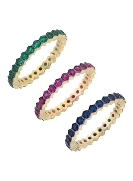Adina Jewels Trio Colorful Bands