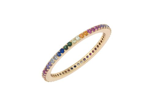 Adina Jewels Rainbow Band