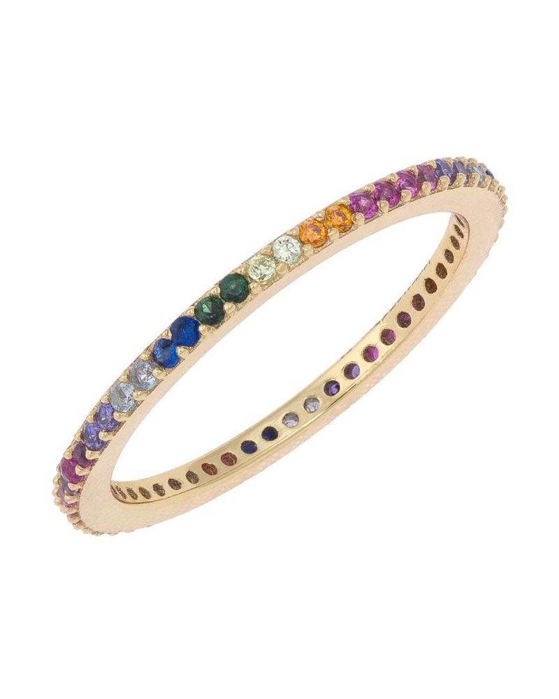 Adina Jewels Rainbow Band