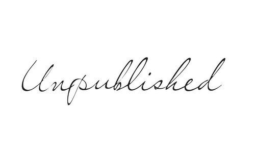 Unpublished