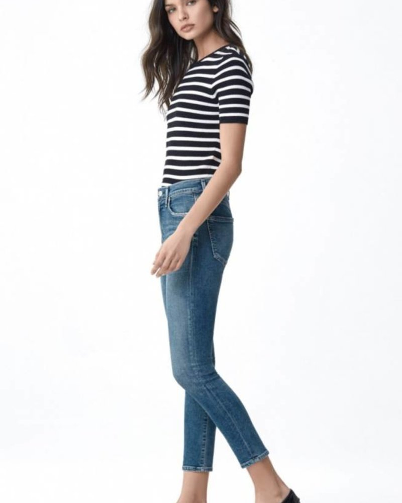 Citizens of Humanity Rocket Crop High Rise Skinny Denim