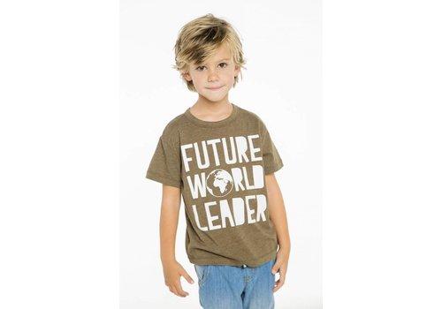 Chaser Boys Future World Leader Tee