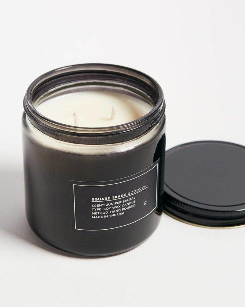 Square Trade Goods Juniper Santal Candle 16oz