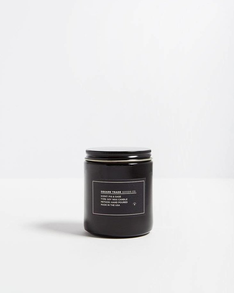 Square Trade Goods Fig & Sage Candle 16oz