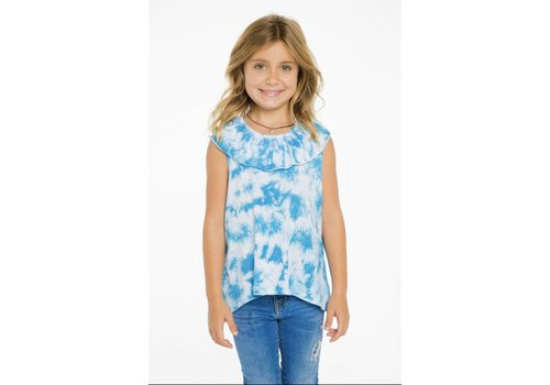 Chaser Girls Flounce Top Tie Dye