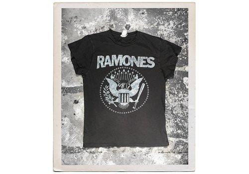 Madeworn Ramones Silver Glitter Tee