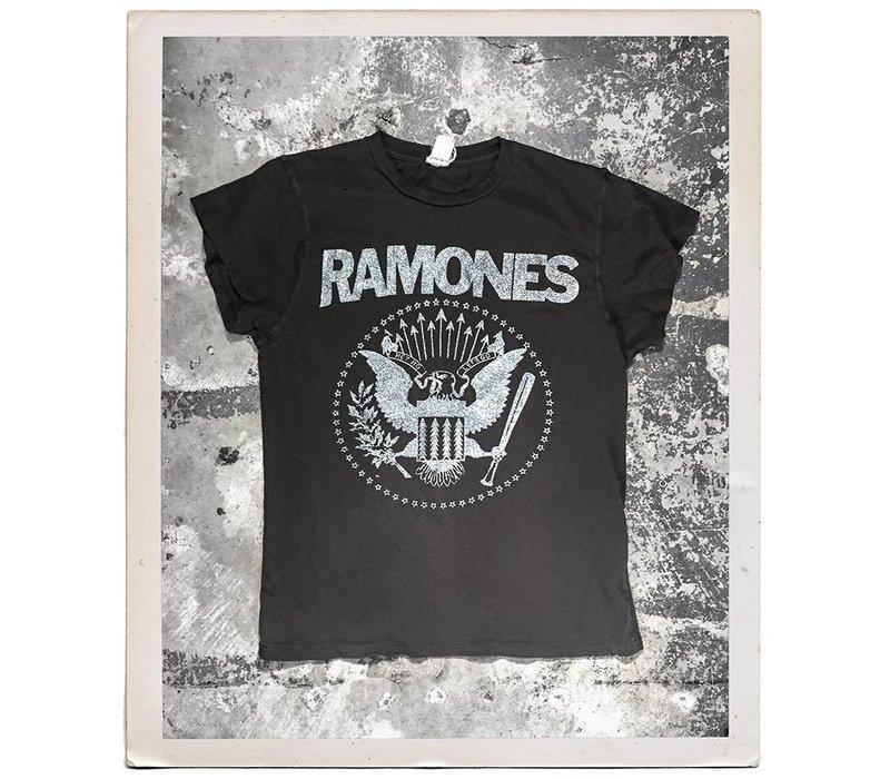 Ramones Silver Glitter Tee