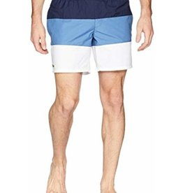 LACOSTE LACOSTE APPAREL COLOUR BLOCK SWIM SHORT