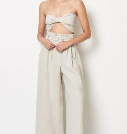 BEC & BRIDGE BEC & BRIDGE SILVER PALMS PANTS