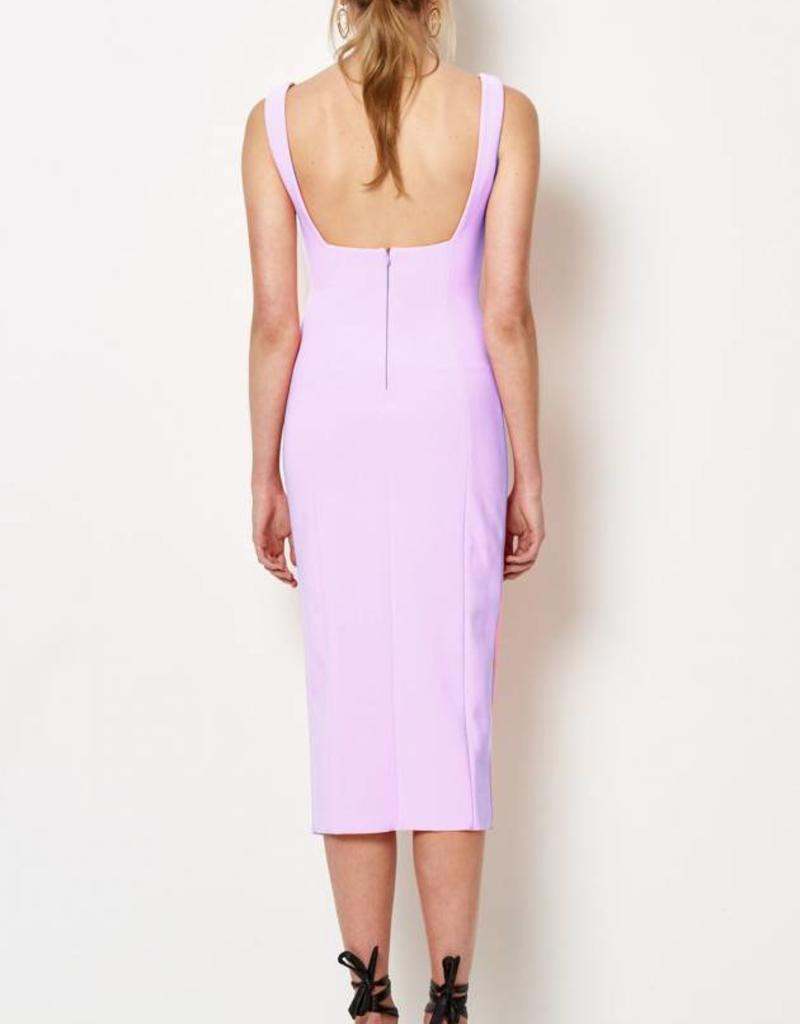 BEC & BRIDGE BEC & BRIDGE HIBISCUS ISLANDS MIDI DRESS
