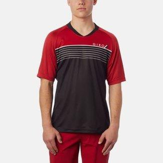 Giro Giro Jersey Roust Negro/Rojo