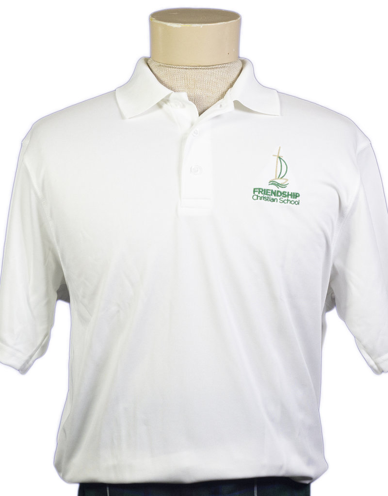 Polo Unisex Short Sleeve Dry-Fit Adult
