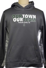 SW 12 Dry Fit Hoodie Our Town Our Team