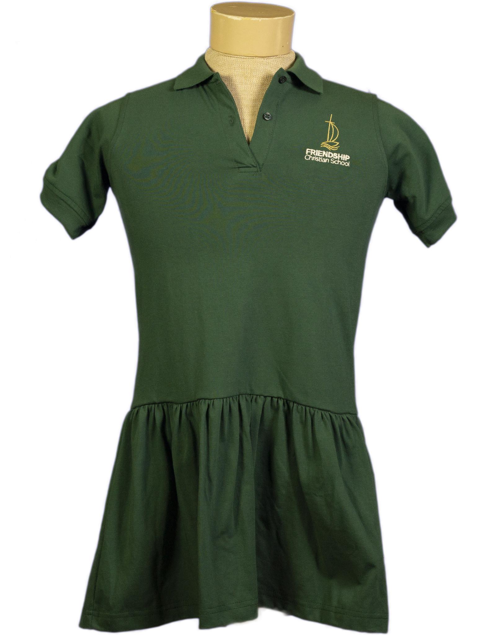 Polo Dress  Short Sleeve  Youth