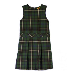 Jumper Dress Plaid Youth