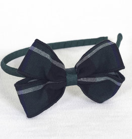 Headband with Plaid bow