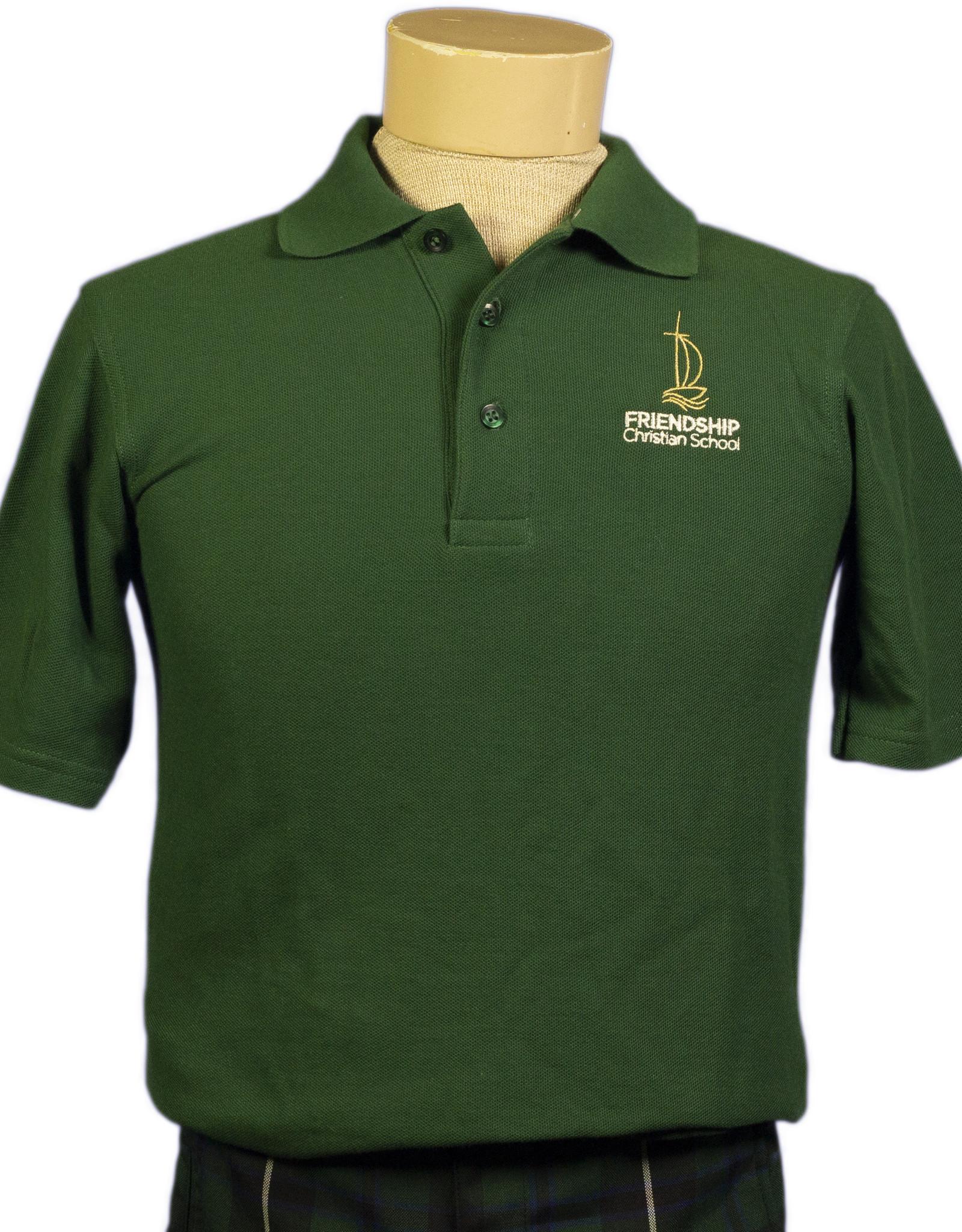 Polo - Unisex -Short Sleeve - Pique - Youth