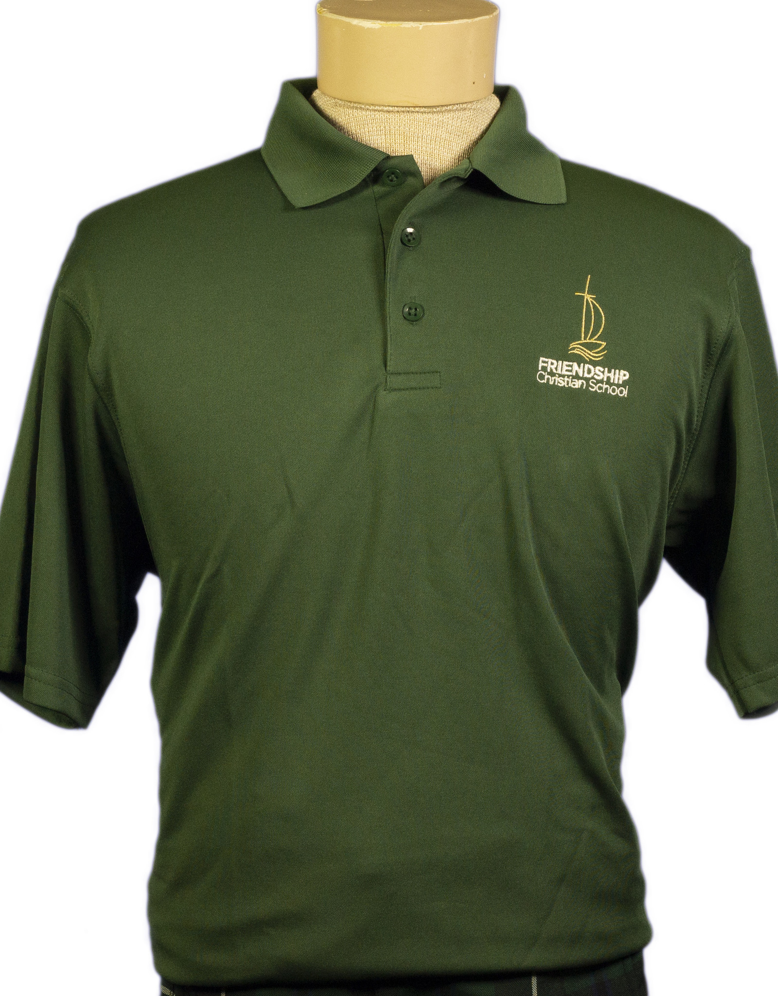 Polo Unisex Short Sleeve-Dry Fit  Youth