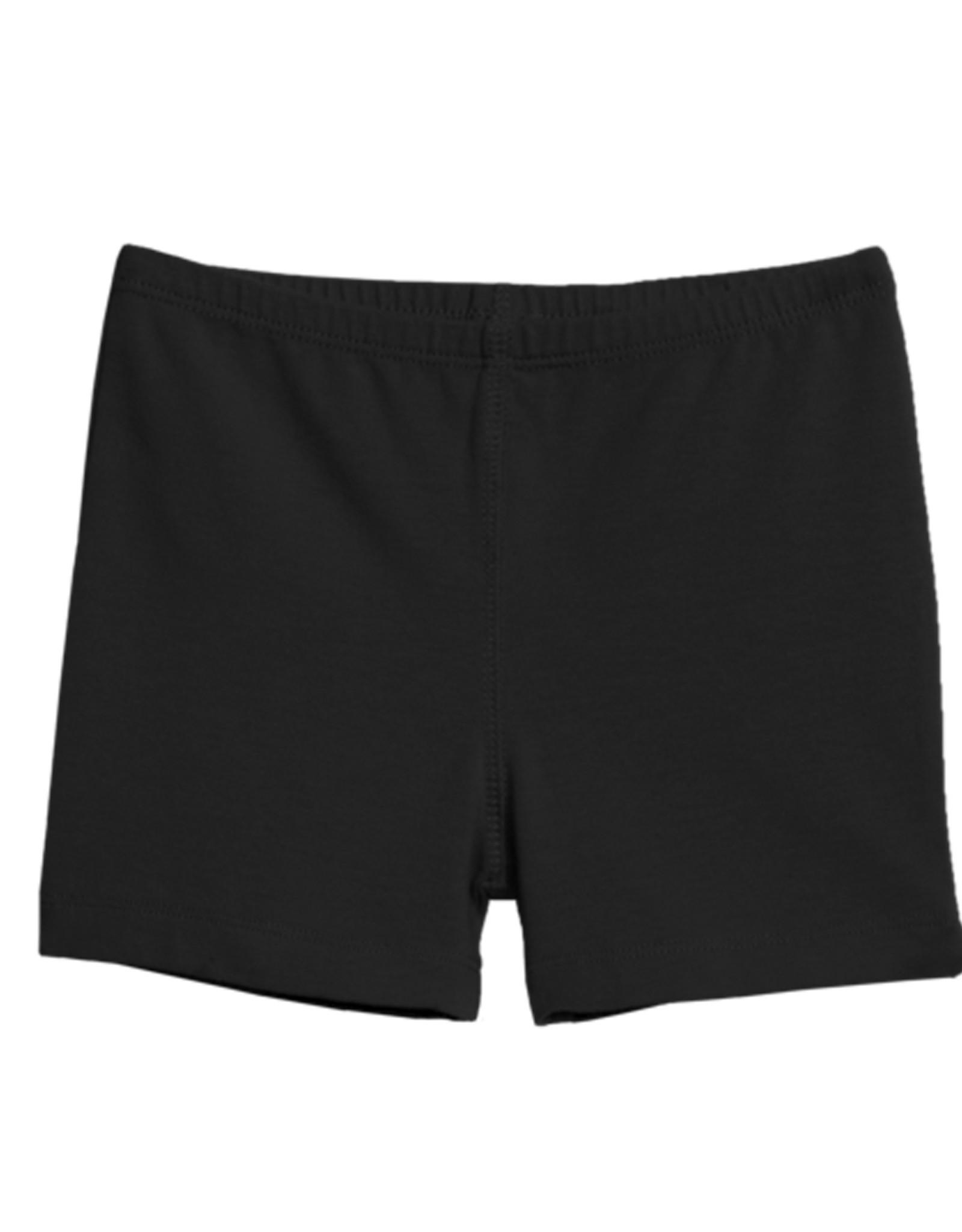 Black Privacy Shorts